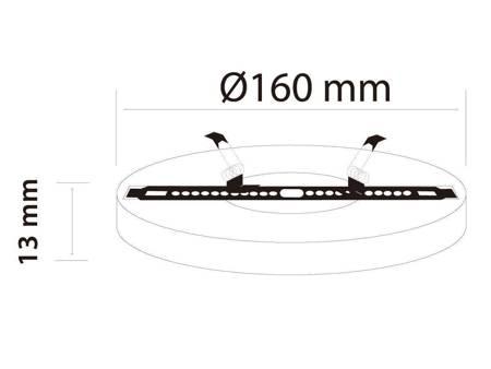 Panel LED line® EasyFix 12W 1060lm 4000K biała dzienna