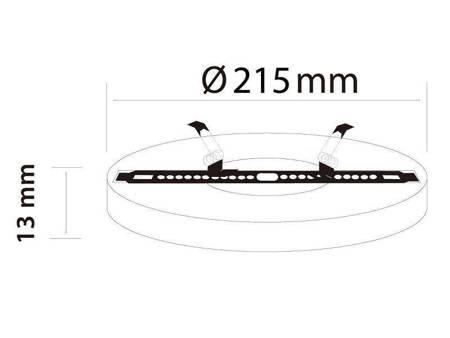 Panel LED line® EasyFix 18W 1650lm 4000K biała dzienna
