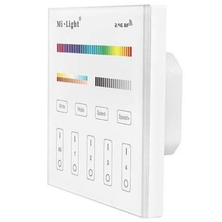 Panel naścienny MI-LIGTH  T4 RGB / CCT 4-strefowy