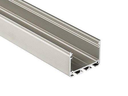 Profil nawierzchniowy srebrny anodowany typ ILEDOS 2 metry
