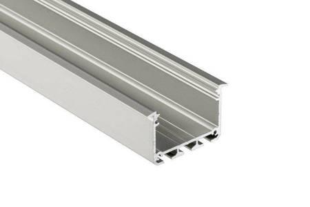 Profil wpuszczany srebrny anodowany typ INSO 2 metry