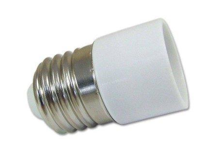Przejściówka żarówki (adapter) E27 > E14