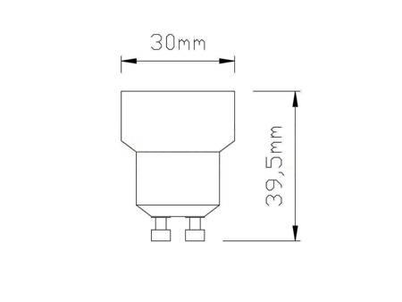 Przejściówka żarówki (adapter) GU10 > E14