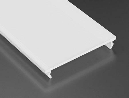 Szybka wciskana do profilu Lumines ILEDO/INSO/SOLIS PMMA mleczna 2 metry