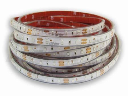Taśma LED line 300 SMD 3528 biała neutralna 6200-6700K w osłonie silikonowej IP67 5 metrów