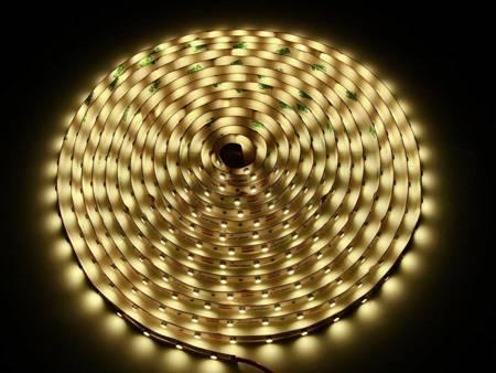 Taśma LED line 300 SMD3528 12V biała ciepła 2865-3025K rolka 30 metrów