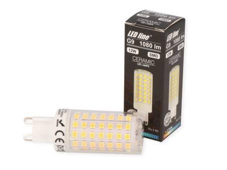 Żarówka LED G9 230V 12W 1080lm 2700K biała ciepła