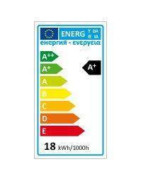 Żarówka LED line E27 170-250V 18W 1800LM biała ciepła 2700K A70