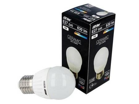 Żarówka LED line  E27 SMD 170~250V 7W 630lm biała ciepła 2700K