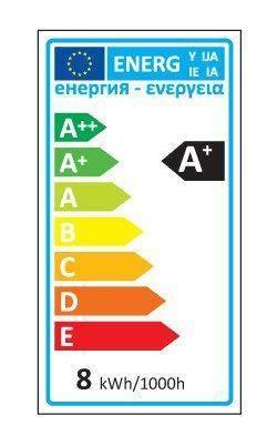 Żarówka LED line® FILAMENT E27 A60D 180-265V 8W 968lm 4000K biała dzienna ściemnialna
