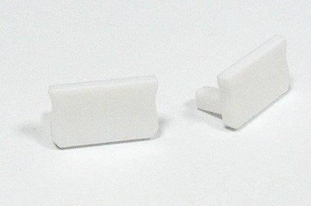Zaślepka 1 sztuka do profilu SLIM Lumines typ X biała