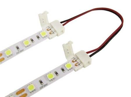 Złączka CLICK podwójna do taśm LED 10mm + przewód  14cm